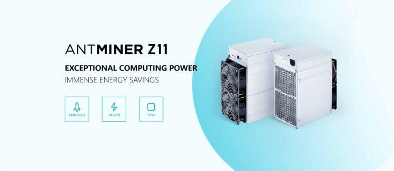 Bitmain Antminer Z11, un nouveau mineur ASIC Equihash plus puissant