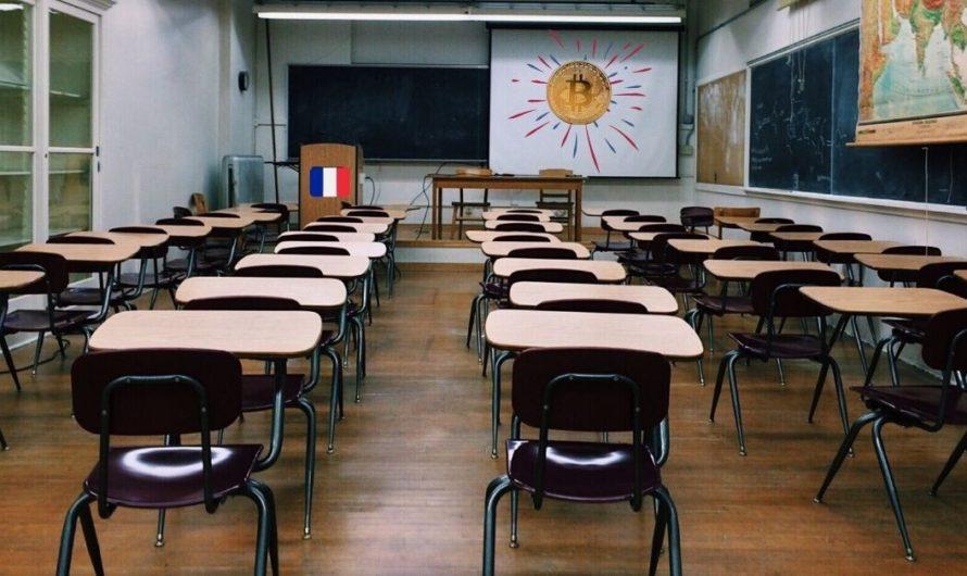 La France a ajouté le bitcoin au programme d'études en économie mondiale