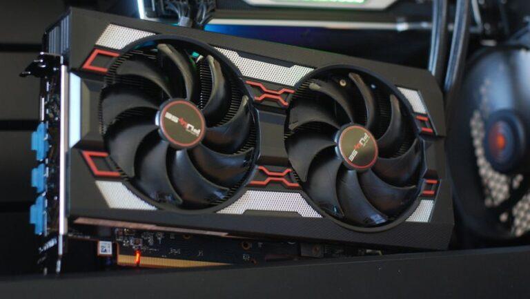 Essai: Carte gaphique AMD Radeon RX 5600 XT dans le minage d'Ethereum