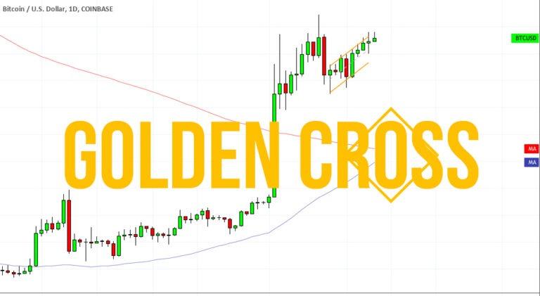 Une figure rare « Croix dorée » ce forme sur le graphique de Bitcoin