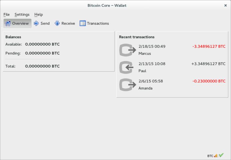 La nouvelle version du portefeuille Bitcoin core (v0.20.0) a déjà été publiée