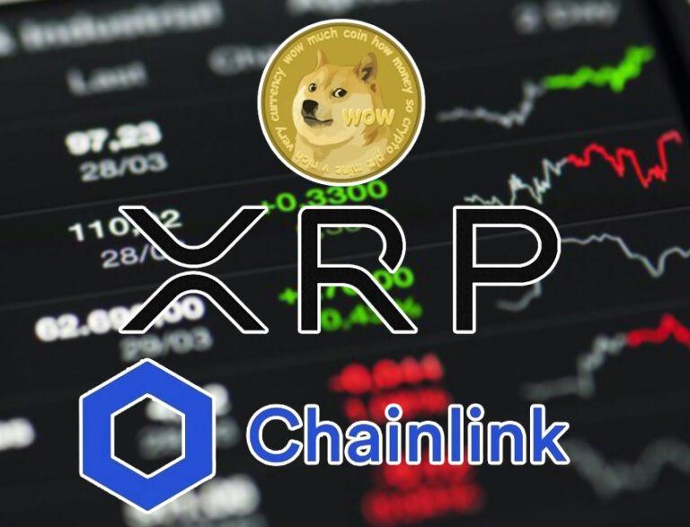 Analyse crypto-monnaies: Chainlink, Dogecoin, XRP